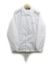 UNDERCOVER(アンダーカバー)の古着「コーチジャケット」|ホワイト