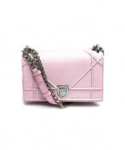 Christian Dior(クリスチャン ディオール)の古着「ショルダーバッグ」|ピンク