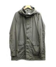 ASPESI(アスペジ)の古着「フーデッドコート」|カーキ