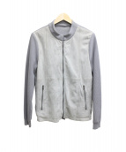 EPOCA UOMO(エポカ ウォモ)の古着「ジップジャケット」|グレー