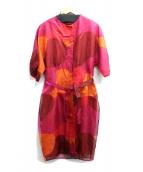 marimekko(マリメッコ)の古着「ブラウスワンピース」