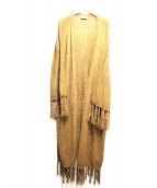 SHOW ME YOUR MUMU(ショウミーユアームム)の古着「ロングカーディガン」|ブラウン