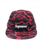 Supreme(シュプリーム)の古着「キャップ」|レッド×ブラック
