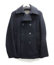 Traditional Weatherwear(トラディショナルウェザーウェア)の古着「Pコート」 ブラック