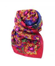 Christian Dior MONSIEUR(クリスチャンディオールムッシュ)の古着「スカーフ」|ネイビー×ピンク