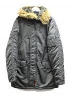 ALPHA(アルファ)の古着「N-3Bタイプコート」