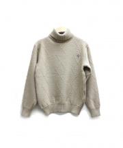 Christian Dior Sports(リスチャンディオールスポーツ)の古着「タートルネックニット」|ベージュ