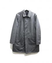 MACKINTOSH PHILOSOPHY(マッキントッシュフィロソフィー)の古着「リバーシブルキルティングコート」|グレー×ブラック