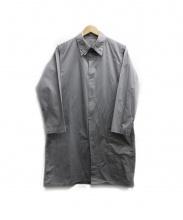 BRU NA BOINNE(ブルーナボイン)の古着「ロングシャツ」|グレー