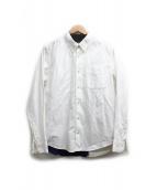 visvim(ヴィズビム)の古着「LUNGTA B.D. STARS SHIRT L/S」|ホワイト