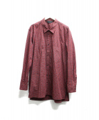 Essay(エッセイ)の古着「ARMANENTAL SHIRT / red tartan」