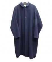 Dulcamara(ドゥルカマラ)の古着「アンゴラカシミヤビーバービッグコート」