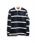 SUPREME(シュプリーム)の古着「Striped Rugb」