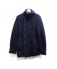 BLUE BLUE(ブルーブルー)の古着「ニットコート」