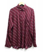 BALENCIAGA(バレンシアガ)の古着「Logo-Print Poplin Shirt」