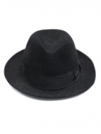 Borsalino(ボルサリーノ)の古着「ALESSANDRIA」|BLACK×BLACK