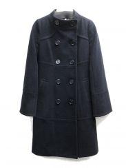 BURBERRY BLUE LABEL(バーバリーブルーレーベル)の古着「スタンドカラーコート」