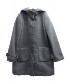 SLOBE IENA(スローブ イエナ)の古着「フーデッドコート」|グレー