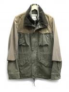 REMI RELIEF(レミレリーフ)の古着「60/40クロスサテンバックM65ジャケット」