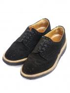 Tricker's(トリッカーズ)の古着「メダリオンシューズ」|ブラック