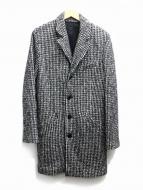 agnes b homme(アニエスベーオム)の古着「ツイードチェスターコート」