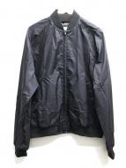 BLACK COMME des GARCONS(ブラックコムデギャルソン)の古着「バックプリントブルゾン」