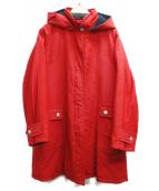MAX MARA WEEK END LINE(マックスマーラ ウイークエンドライン)の古着「フーデッドコート」 レッド