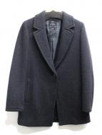 23区(23ク)の古着「カシミア混ウールコート」|グレー