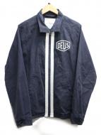 DEUS EX MACHINA(デウスエキスマキナ)の古着「ライダースジャケット」|ネイビー