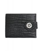 BILL WALL LEATHER(ビルウォールレザー)の古着「2つ折り財布」|ブラック