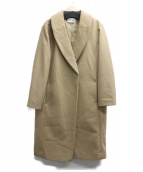 FRAY ID(フレイアイディー)の古着「チェスターコート」|ベージュ