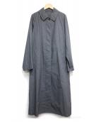 MARGARET HOWELL(マーガレットハウエル)の古着「PROOFED FINE COTTON」|グレー