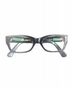 OLIVER GOLDSMITH(オリバー ゴールドスミス)の古着「眼鏡」|ブラック