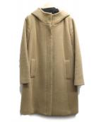 UNTITLED(アンタイトル)の古着「フーデッドコート」|ベージュ