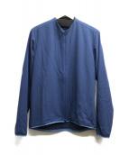 CCP(シーシーピー)の古着「ストレッチジップジャケット」|ネイビー