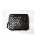 COMME des GARCONS(コムデギャルソン)の古着「2つ折り財布」|ブラウン