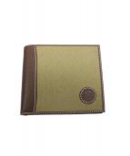 HUNTING WORLD(ハンティングワールド)の古着「2つ折り財布」|オリーブ