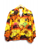 doublet(ダブレット)の古着「GRADATION NEON EMBROIDERY ALOH」