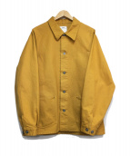 visvim(ヴィスヴィム)の古着「SECTION GANG COVERALL」|イエロー