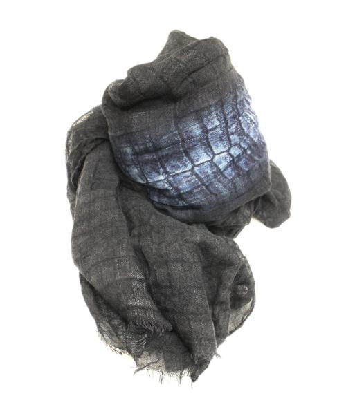 FENDI(フェンディ)FENDI (フェンディ) ガーゼストール カシミヤ・シルク混紡の古着・服飾アイテム