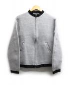 Phlannel(フランネル)の古着「ボンディングMA-1ジャケット」 グレー