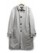 HERNO Laminer(ヘルノ ラミナー)の古着「ステンカラーベルテットコート」|グレー