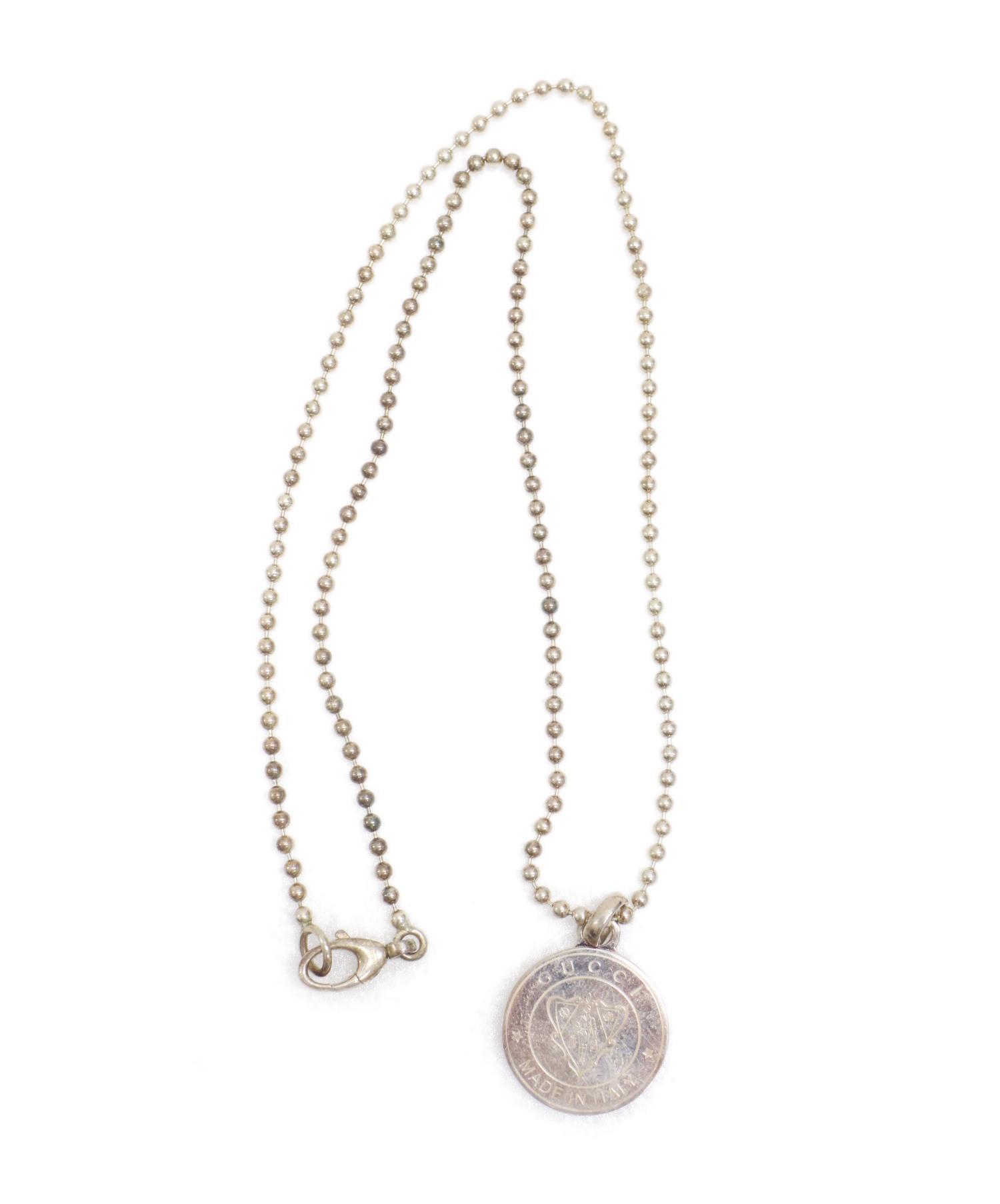 online store 38969 d4c50 [中古]GUCCI(グッチ)のレディース アクセサリー 紋章ネックレス