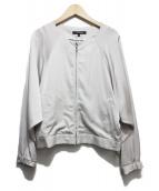 LAUTRE AMONT(ロートレアモン)の古着「ノーカラージャケット」|グレー