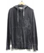 DIESEL(ディーゼル)の古着「プルオーバーパーカー」|グレー