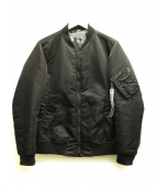 STUDIOUS×NUMBER (N)INE(ストゥディオス×ナンバーナイン)の古着「MA-1ジャケット」