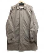 LONDON FOG(ロンドンフォッグ)の古着「比翼コート」 ベージュ