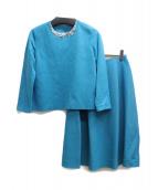 ANAYI(アナイ)の古着「セットアップブラウス」|ライトブルー