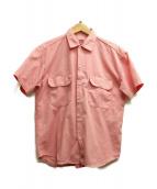 eYe COMME des GARCONS JUNYAWATANABE MAN(アイコムデギャルソンジュンヤワタナベマン)の古着「半袖ポケットシャツ」|ピンク