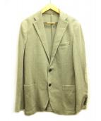 eleventy(イレブンティ)の古着「テーラードジャケット」 アイボリー